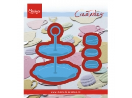 Creatable Die Tiered Tray & Macarons - Pre Order
