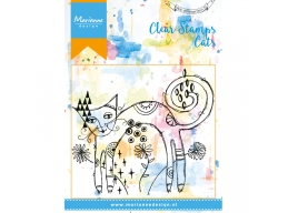 Skinny Cat Clear Stamps
