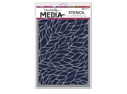 Viney - Dina Wakley Media Line by Ranger - Stencil