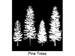 Art Stamps - Pine Trees