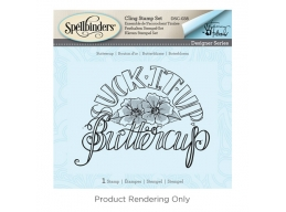 Tammy Tutterow Buttercup - Spellbinders 3D Cling Stamp 4