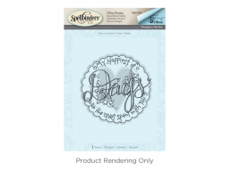 Days - Spellbinders 3D Cling Stamp 4