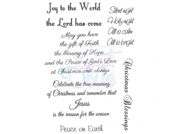 Sweet Dixie Joy to the World Clear Stamps