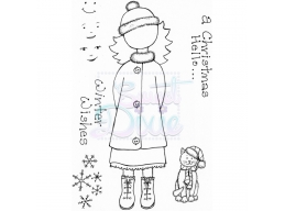 Sweet Dixie A Christmas Hello Clear Stamps