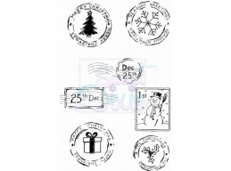 Sweet Dixie Festive Post Clear Stamps