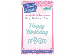 Happy Birthday & Swirl - Sweet Dixie