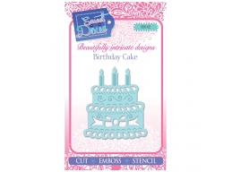 Birthday Cake - Sweet Dixie Mini Dies