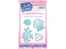 Seashells & Seaweed - Sweet Dixie Mini Dies