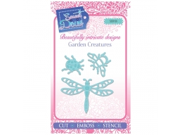 Garden Creatures - Sweet Dixie Mini Dies