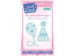 Balloon & Party Hat - Sweet Dixie Mini Dies