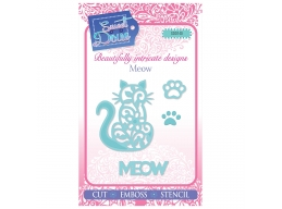 Meow - Sweet Dixie Mini Dies