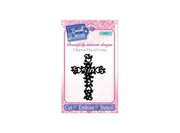 Filigree Floral Cross - Sweet Dixie Die Summer Collection