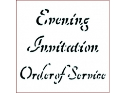ST Invitation Order of Service