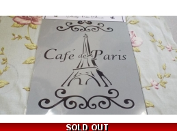 Cafe de Paris & Eiffel Tower - A3