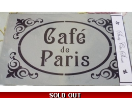 Cafe de Paris - A4