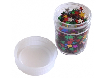 Crafts Too Single Small Container with Assorted Mirrored Stars