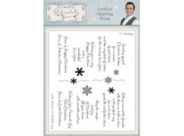 Scribbled Christmas Verses Clear Stamp Set