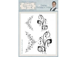 Timeless Flourishes & Corners Clear Stamp Set