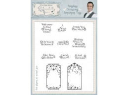 Timeless Occasions Sentiment Tags Clear Stamp Set