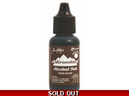 Tim Holtz Ranger Adirondack Alcohol Ink - Teakwood
