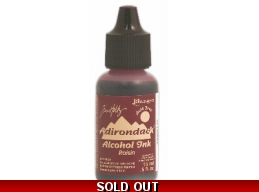Tim Holtz Ranger Adirondack Alcohol Ink - Raisin
