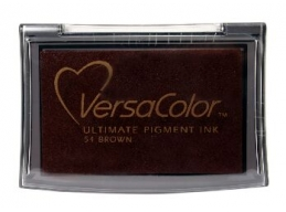 VersaColor Ink Pad Brown