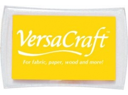 Lemon Yellow Tsukineko Versacraft Ink Pad VK111