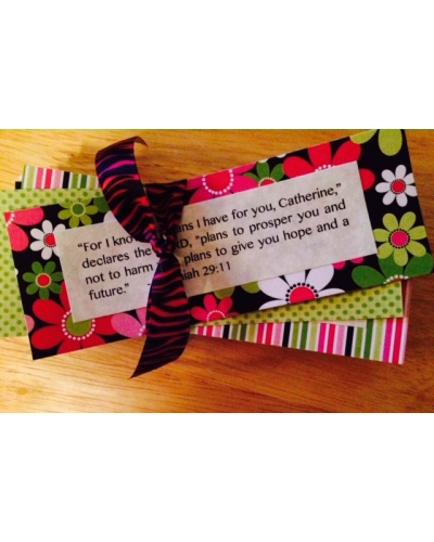 Personalized Scripture Cards