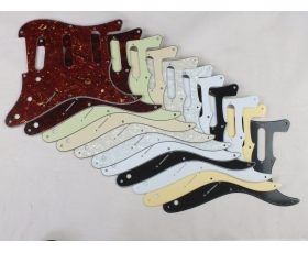 8 Hole SSS Scratch Plate Pickguard in 11 Colours for USA Stratocaster