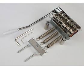 2 Pivot Point Chrome Tremolo Bridge + Trem Arm for Stratocaster