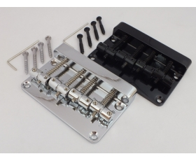 High Mass 4 String Electric BASS Guitar BRIDGE in Chrome or Black