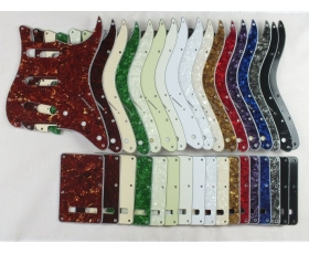Scratch Plate Pickguard SET in 17 Colours for USA/Mex Stratocaster