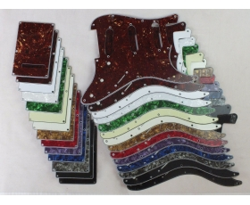 SSS Scratch Plate Pickguard SET in 14 Cols for Squier or Import Strat