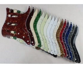 SSS Scratch Plate Pickguard in 17 Cols for USA Mex Stratocaster