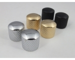 Guitar Knobs Push Fit in Chrome, Gold or Black t..