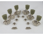 Nickel 3 a-side Machine Heads for Gibson style g..