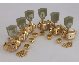 GOLD 3 a-side Vintage Machine Heads for Gibson style guitars