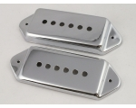 Pair of Chrome CASINO P90 Dog Ear Pick Up Covers..