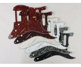 HSS Scratch Plates Pickguards in 6 Colours for USA Mex Straocaster