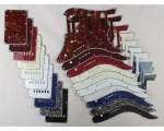 HSS Scratch Plate Pickguard SETS in 10 Colours f..