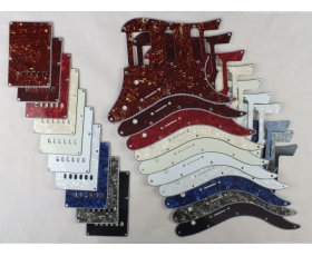 HSS Scratch Plate Pickguard SETS in 10 Colours for Yamaha Pacifica 112