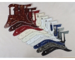HSS Scratch Plate Pickguard in 10 Colours for YA..