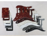HSS Scratch Plate Pickguard SET in 6 Cols for US..
