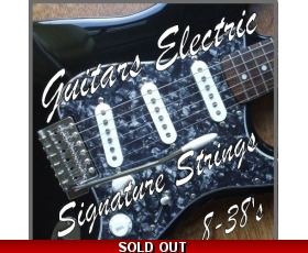 Electric Guitar Strings 08-38s Ultra Light Gauge