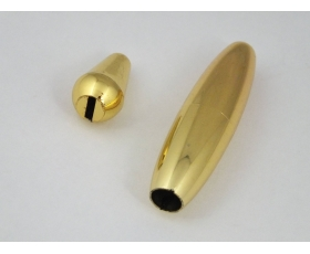 GOLD Tremolo Arm and Switch Tips for USA/Mex Stratocasters