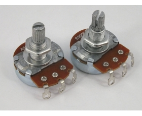 FULL SIZE POTS Log A or Linear B 500k 250k Vol & Tone Potentiometers