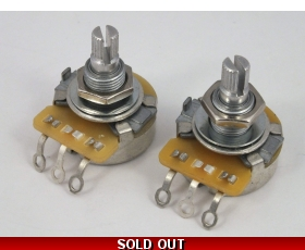 CTS POTS Log A or Linear B 500k or 250k Volume Tone Potentiometers