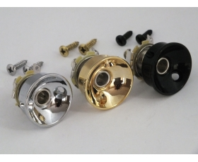 Screw in Round Jack Cup & Socket + Screws for Telecaster