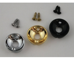 Screw in Round Jack Cup & Screws for Telecaster