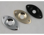 OVAL Jack Plate for Tele Yamaha Electric Guitars..